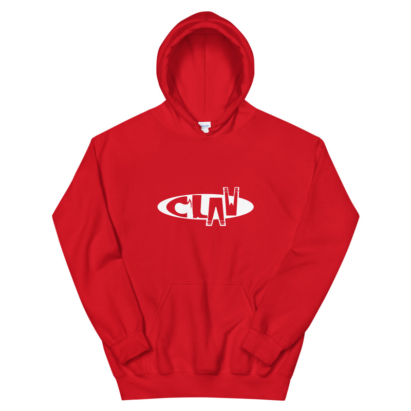Red Hoodie - CLAW Logo