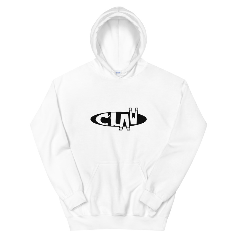 White Hoodie - CLAW Logo